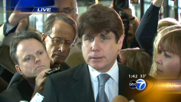Blagojevich speaks after sentencing, quotes poem