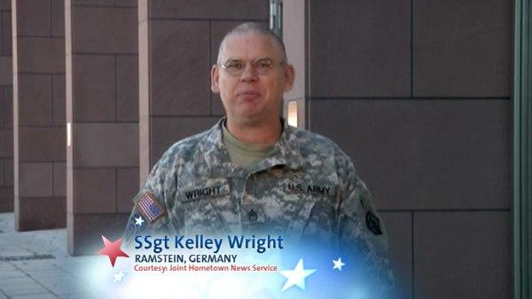 SSgt Kelley Wright