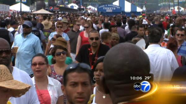 Taste of Chicago to run five days in 2012
