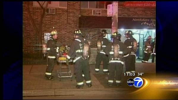 1 killed, 1 hurt in Rogers Park apartment fire