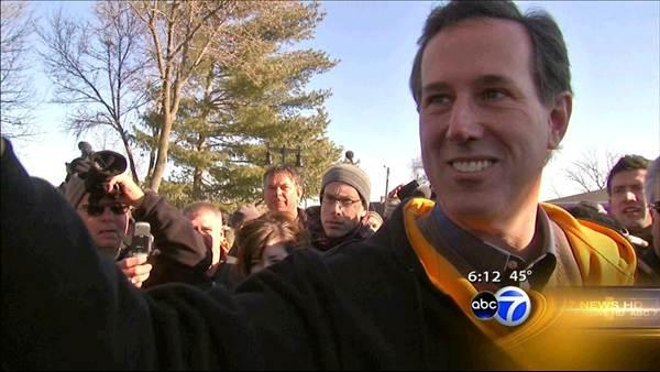 Rick Santorum has strong ties to Illinois