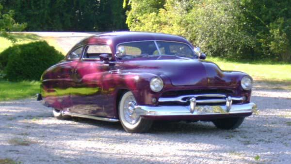 Ed Meurer Jr. and his 1950 Mercury Custom