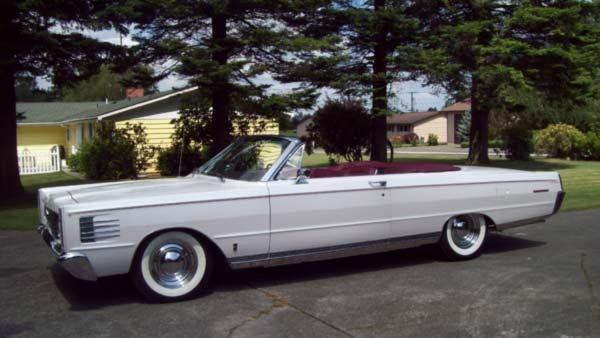 Duane Romberg and his 1965 Mercury Parklane Convertible