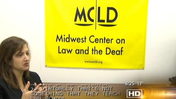 Legal center for deaf loses money, could shut down