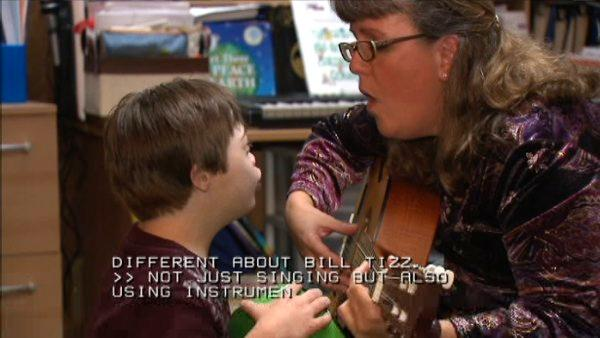 Music therapy has benefits for children with disabilities