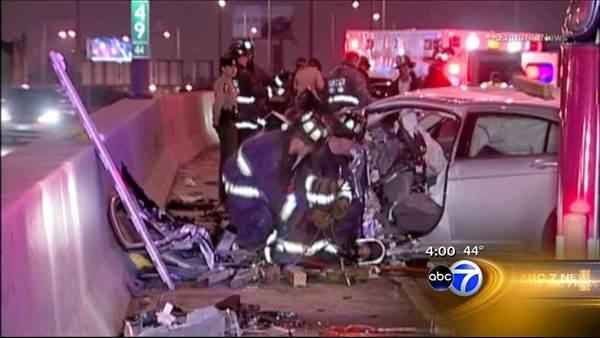 Wrong-way driver causes Kennedy crash