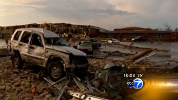 Tornado devestation touches multiple states