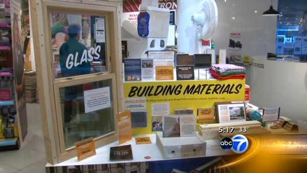 Exhibit gets shoppers to think about their habits