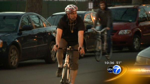 Cyclist who stopped mugger says bike is the hero