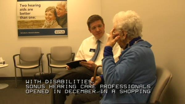 Disabled audiologist helps hearing impaired