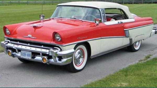 Norman Harrison's 1956 Mercury custom convertible