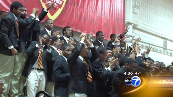 All Urban Prep seniors to attend 4-year schools