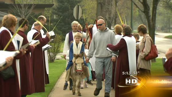 Palm Sunday celebrated across Chicago