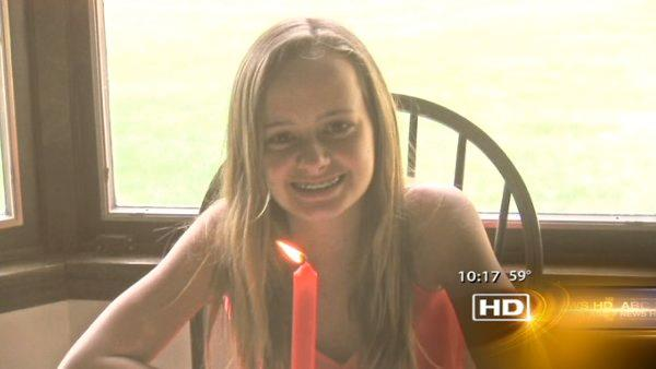 Murdered girl remembered on 15th birthday