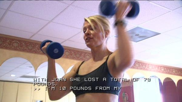 Vision loss doesn't stop personal trainer
