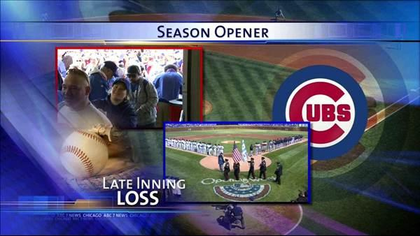 Cubs lose to Nationals on Opening Day