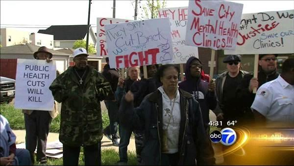 23 arrested in mental health facility protest