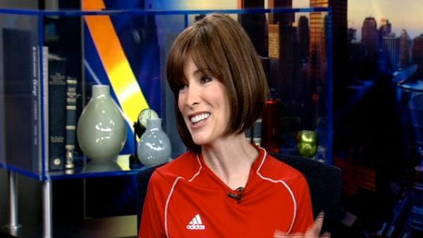 Olympic gymnast Shannon Miller on ABC7 News