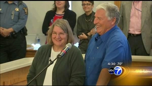 Red Bud couple claims $218M Mega Millions win