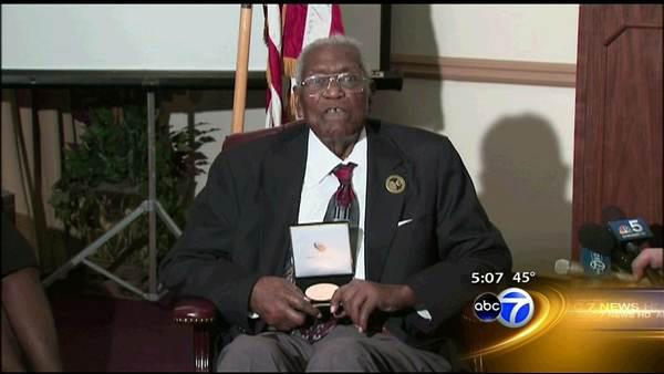 Tuskegee airman's stolen medal replaced