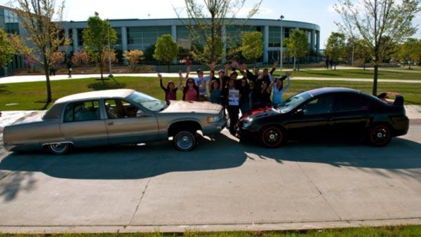 College of DuPage Car Show