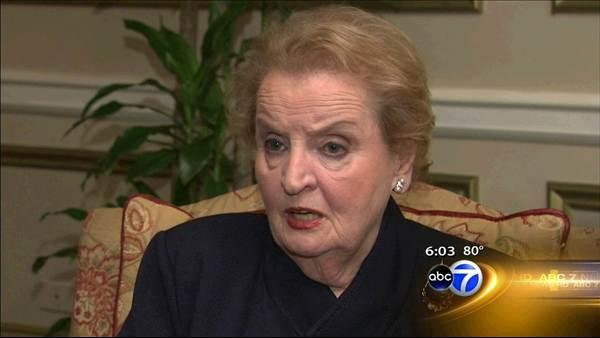 Madeleine Albright: NATO good for Chicago