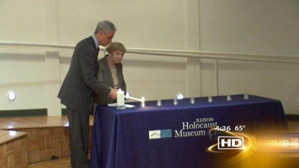 Emanuel, survivors mark Holocaust Remembrance Day