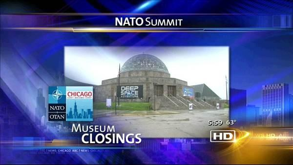 Museum Campus to close on May 20 for NATO