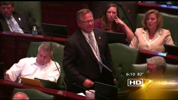 Tempers flare over pension reform bill