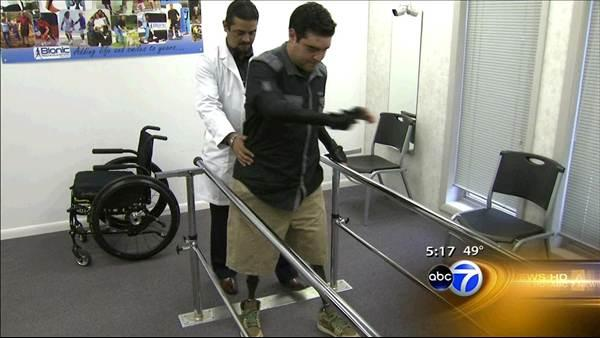 Northwest Indiana doctor helps man walk again