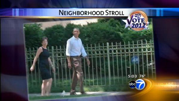 Obama enjoys home on Chicago trip