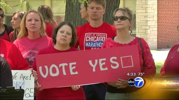 Report: Enough teachers vote to authorize strike