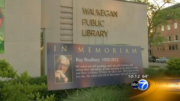 Author Bradbury remembered in native Waukegan