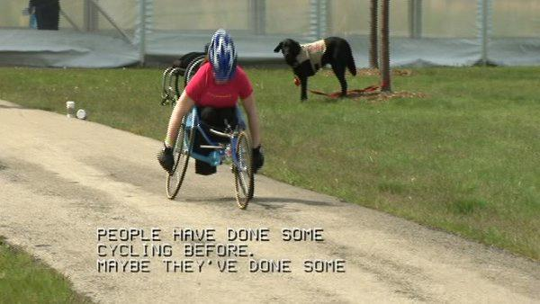Group challenges disabled athletes to Dare2Tri