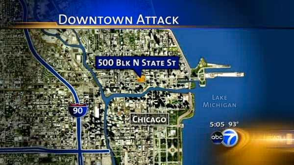 Chicago police investigating downtown attacks
