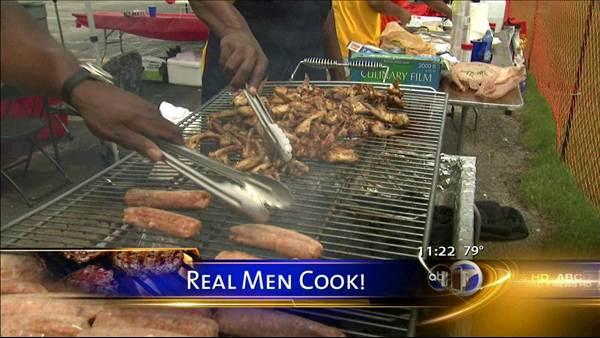 Real Men Cook recipes: Grilled catfish, asparagus