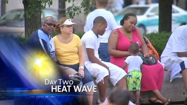 Heat wave continues in Chicago area