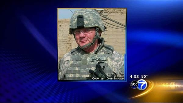 Retired officer killed in Afghanistan remembered