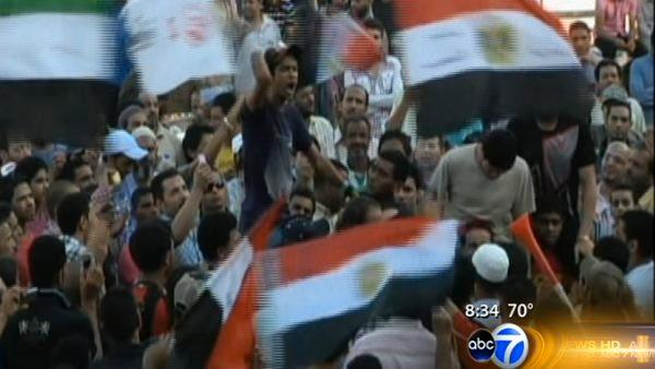 Chicago activist in Egypt for election results