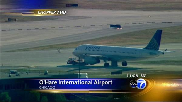 Plane makes emergency landing at O'Hare