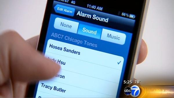 NEW: ABC7Chicago Alarm Clock App