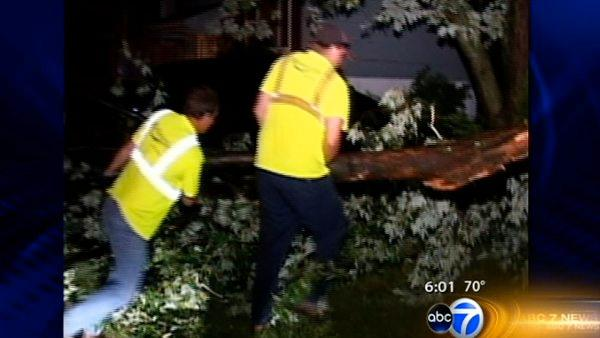 Storms leave damage, power outages in wake