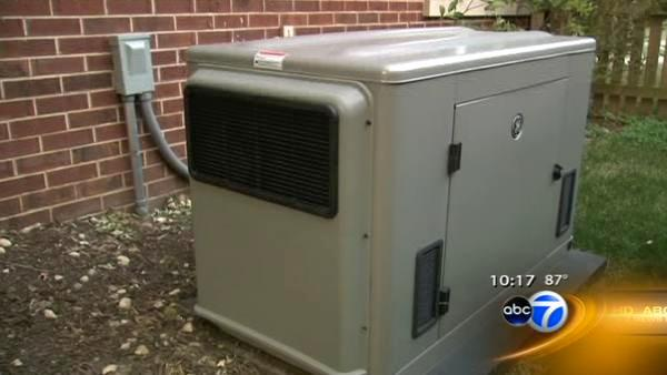 Generators can power through outages