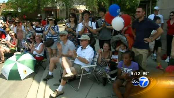 International students celebrate 4th of July