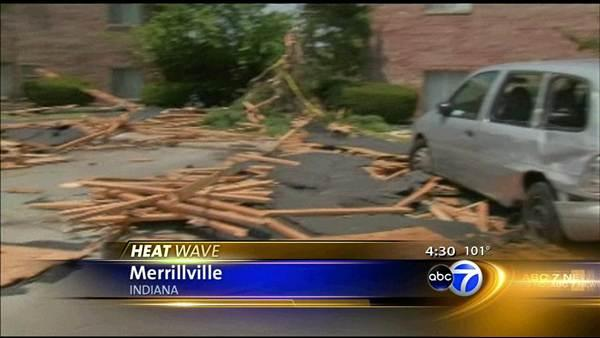 Thousands with no power after microburst