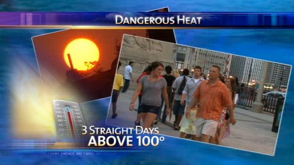 Excessive heat warning in effect through Saturday