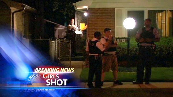 Teenage girls shot on South Side