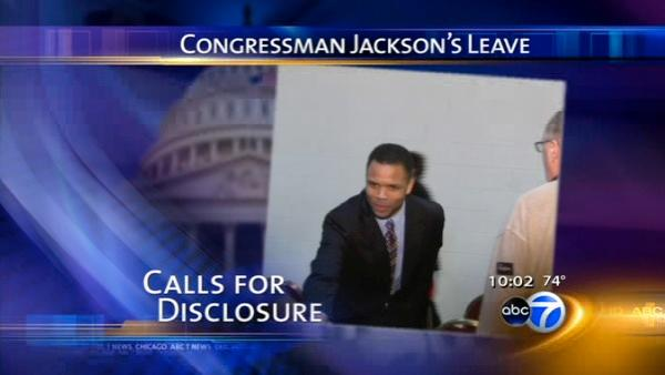 Jesse Jackson Jr. leave of absence could continue through Labor Day