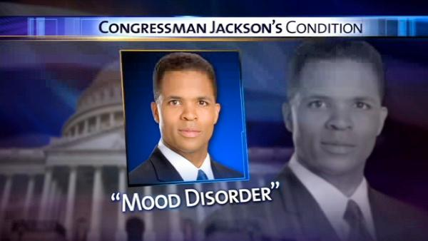 Jackson Jr.'s office: Treatment is for 'mood disorder'