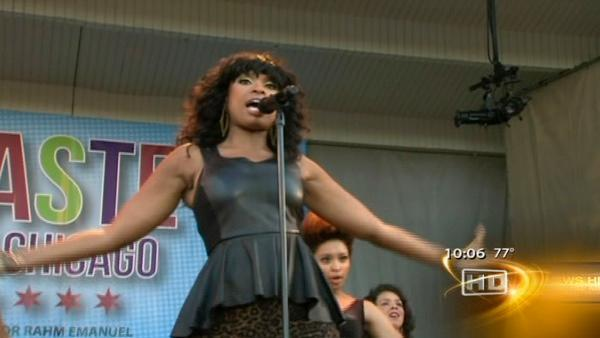 Jennifer Hudson headlines Taste Day One
